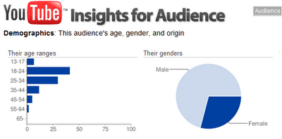 Search Engine Optimization Tips: YouTube Introduces Demographics Tool